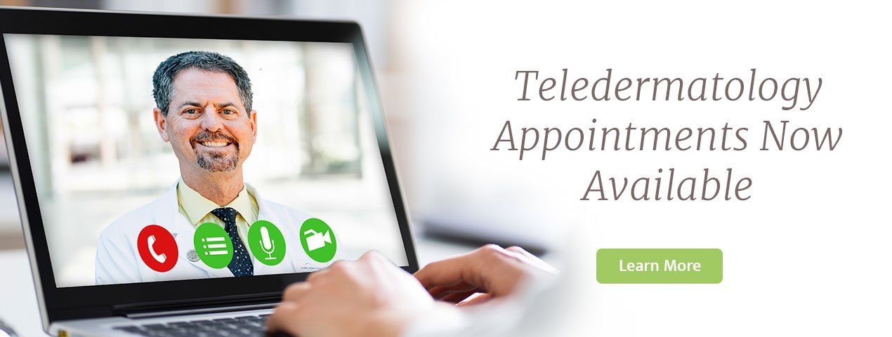 Teledermatology Appointments Now Available